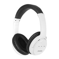3dc77d1396e Free shipping. Product Image Sylvania SBT225-WHITE Bluetooth Stereo  Headphones Wht