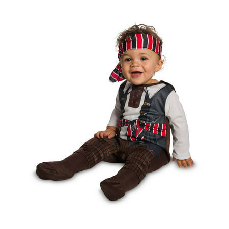 Baby Tiny Pirate Costume - Pirate Baby Girl Costume