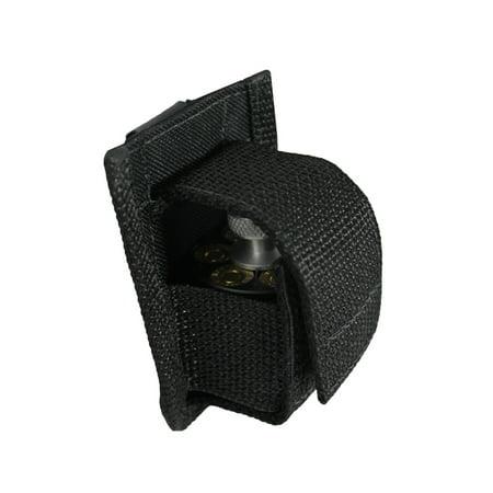 Barsony Revolver Single Belt Clip Speed Loader Pouch for 5-6 shot .38