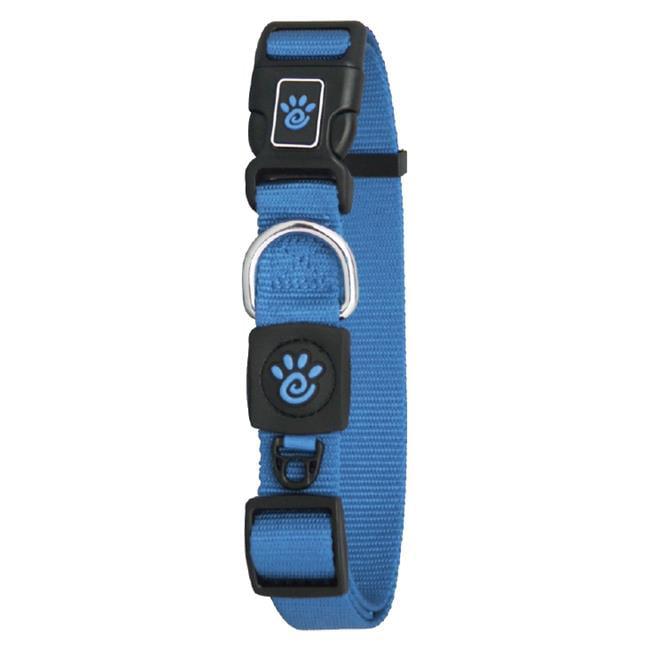 Doco DCSN1048-02XS 4 ft. Signature Nylon Leash Dog Collar, Blue - Extra Small - image 1 de 1