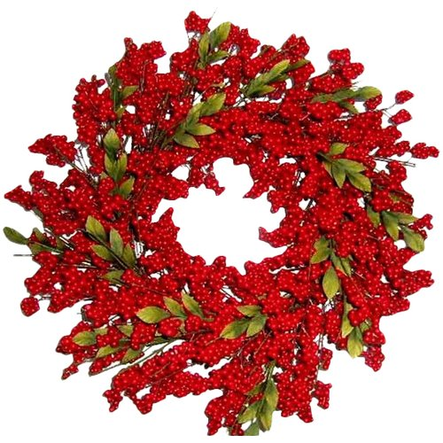 Flora Decor 24'' Berry Wreath