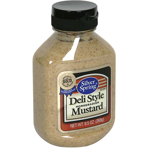 Silver Spring Deli Style Horseradish Mustard, 9.5 oz (Pack of 9)
