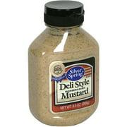 Silver Spring Deli Style Horseradish Mustard, 9.5 oz (Pack of 9)