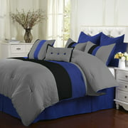 Easter Solid Hypoallergenic Comforter 8-Piece Bedding Set by Impressions - California King