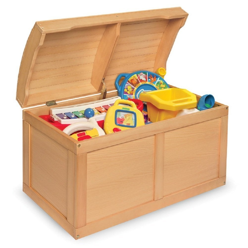 Badger Basket Barrel Top Toy Chest, Natural by Badger Basket
