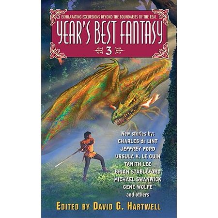 Year's Best Fantasy 3 - eBook (The Best Fantasy Authors)