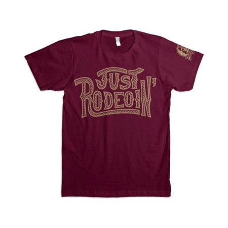 6adc96441 Dale Brisby - Dale Brisby Men's Just Rodeoin' T-Shirt - 08 - Walmart.com
