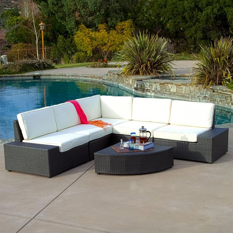 Best Selling Home Decor Santa Cruz Outdoor Sectional Sofa...
