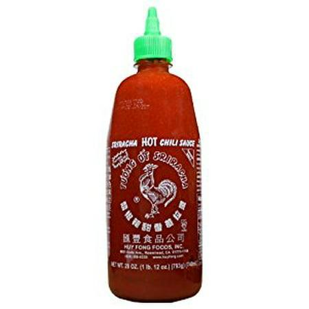 Huy Fong Sriracha Chili Sauce  28-Ounce Bottles (Pack of