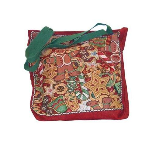 "Christmas Cookie Collage Shopping Tote Bag 17""x 17"""