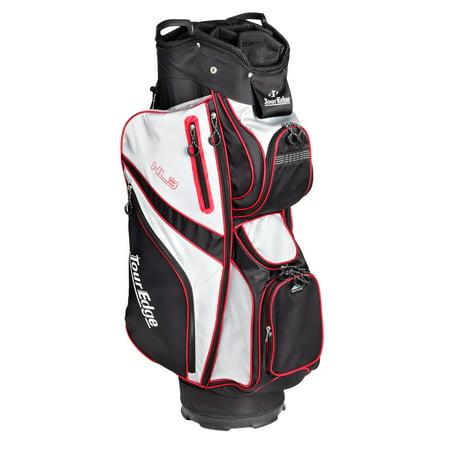 Tour Edge Hl3 Golf Cart Bag Black Silver Red Walmart Com