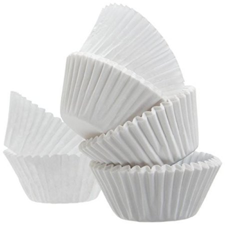 A World Of Deals Best Quality Standard Size White Cupcake Paper   Baking Cup   1 Pack Cup Liners 500 Pcs