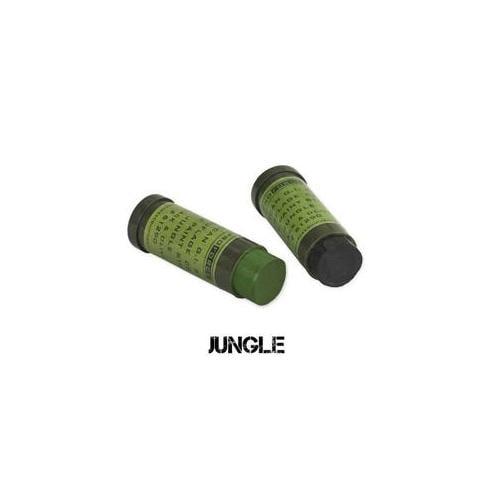 Camcon 61292 CAMCON FACE PAINT - GREEN & Black - 2 PK