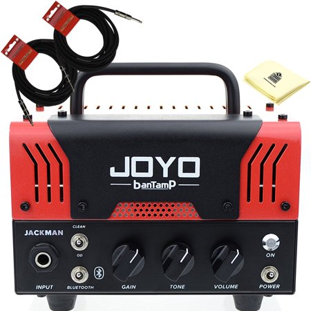 joyo jackman bantamp 20w pre amp tube hybrid guitar amp head with built in cab speaker amp. Black Bedroom Furniture Sets. Home Design Ideas