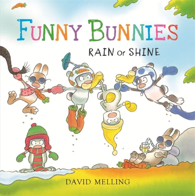 Funny Bunnies: Rain or Shine: Board Book (Board book)
