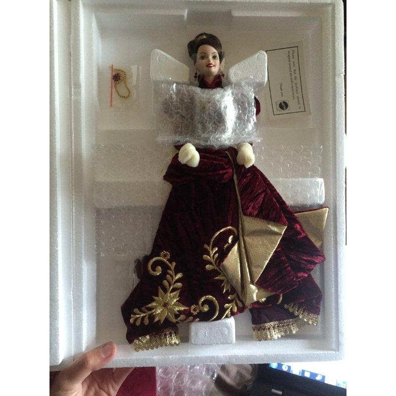 Barbie Collector Edition Holiday Ball Porcelain Doll by M...