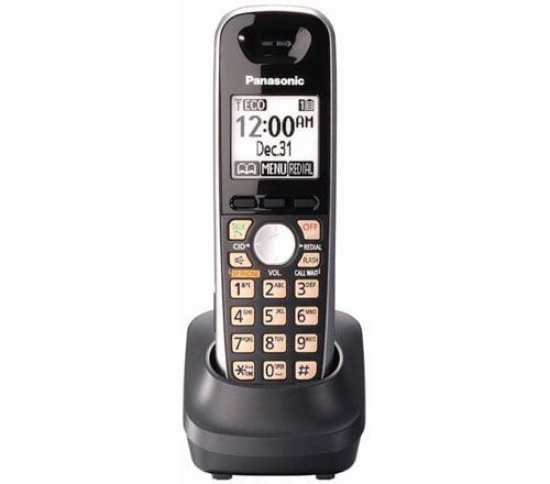 Panasonic KX-TGA651B DECT 6.0 KX-TG6500 Series Additional Cordless Handset