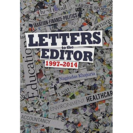 Letters To The Editor  1997 2014