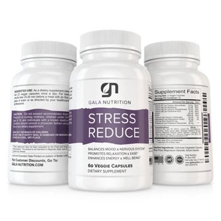 Stress Reduce Anti Anxiety Supplement by Gala