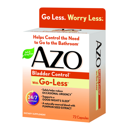 Azo Bladder Control >> Azo Bladder Control With Go Less Daily Supplement Helps