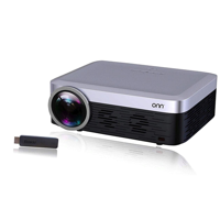 ONN ONA19AV901 Full HD 1080p Native 1920x1080 includes Roku Stick Portable Projector - Manufacturer Refurbished