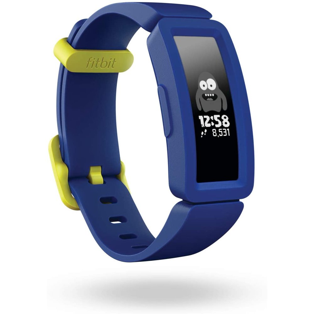 Fitbit Ace 2 Activity Tracker for Kids, Night Sky + Neon Yellow