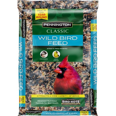 (DISCOUNTED 3 PACK) Pennington Classic Wild Bird Feed and Seed, 10 lbs