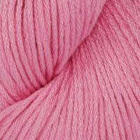 Cotton Classic Lite Yarn (4449) Bubblegum By The Each, Content: 100% mercerized cotton By Tahki