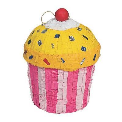 IN-70/7874 Birthday Celebration Cupcake PiNata Each
