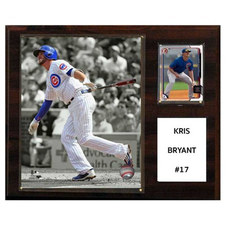 C&I Collectables MLB 12x15 Kris Bryant Chicago Cubs Player Plaque](Cuba Sign)