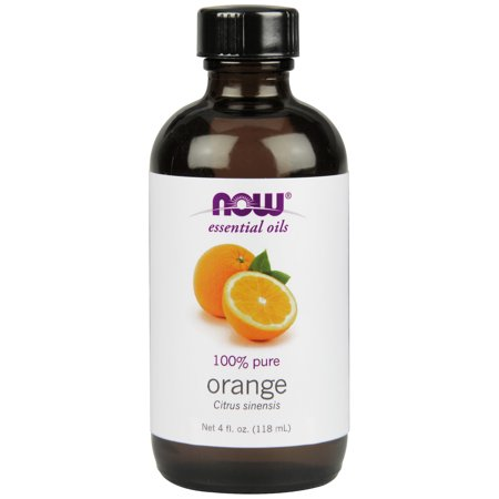 NOW Essential Oils, Orange Oil, Uplifting Aromatherapy Scent, Cold Pressed, 100% Pure, Vegan,