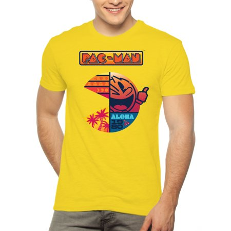 - Mens Pacman Aloha Graphic T-Shirt, up to 2XL