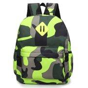 Kid's Toddler Nursery Boy Girl Camouflage Backpack Shoulder School Bag Rucksack