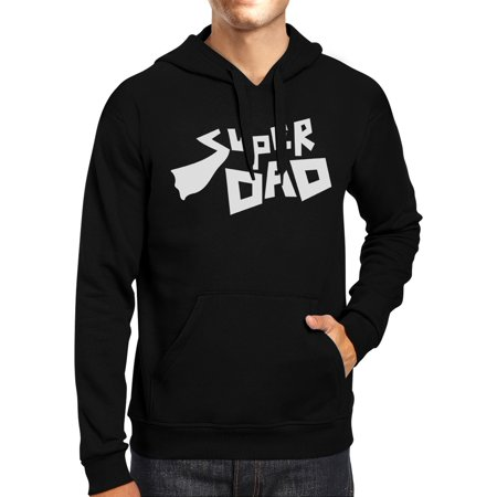 365 Printing Super Dad Unisex Funny Graphic Hoodie Best Dad Birthday Gift