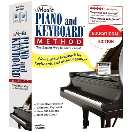Method Lab Pack (eMedia Piano and Keyboard Method 5 Station Lab Pack (5 Computers/120 Students))