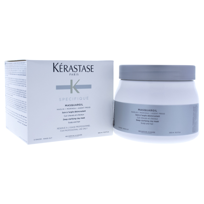 Specifique Masquargil Deep Clarifying Clay Mask by Kerastase for Unisex - 16.9 oz Masque - image 1 of 1