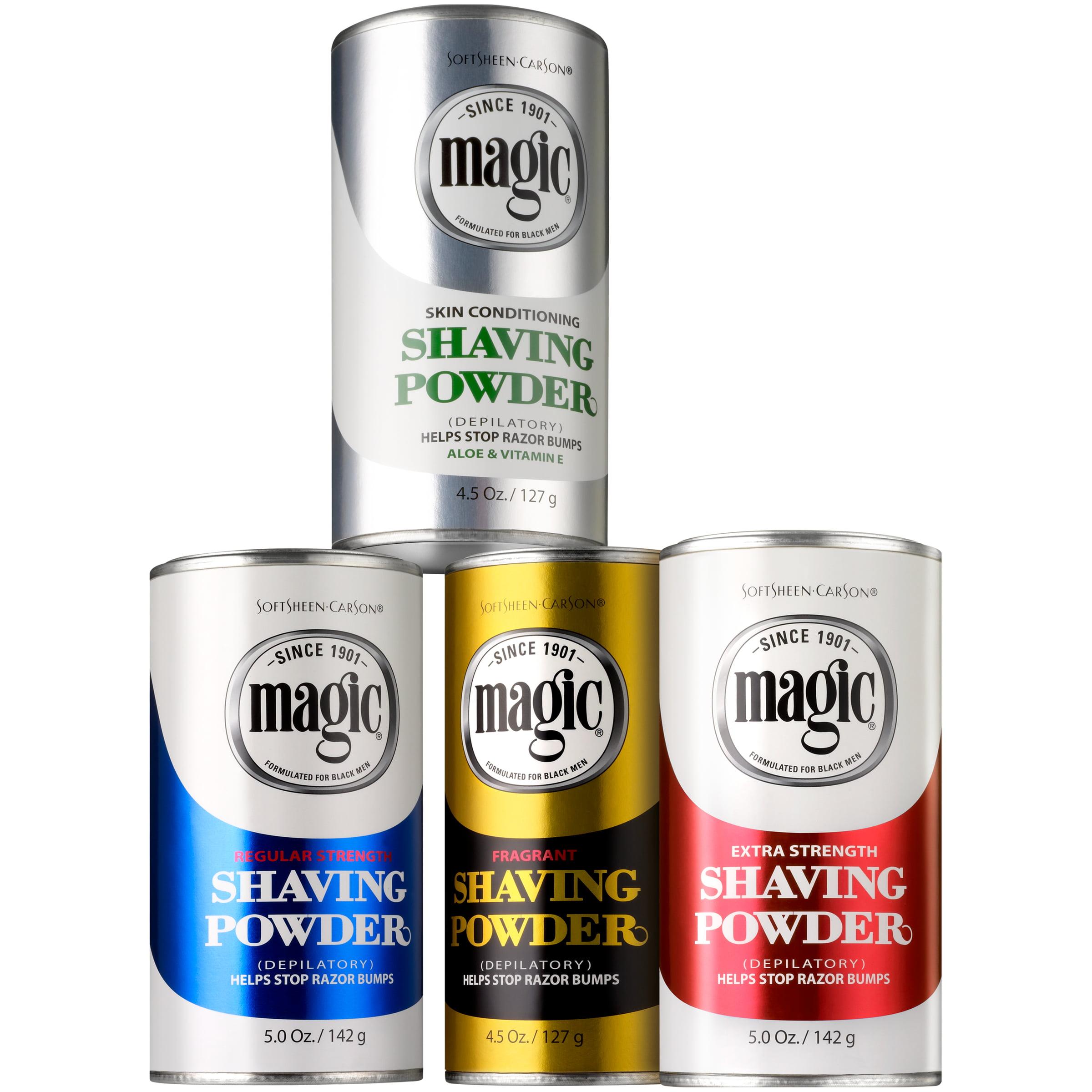 Softsheen Carson Magic Fragrant Shaving Powder Razorless Shaving