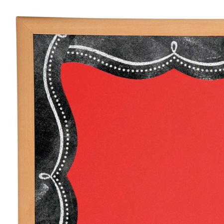 Dotted Swirl Chalkboard Bulletin Board Borders