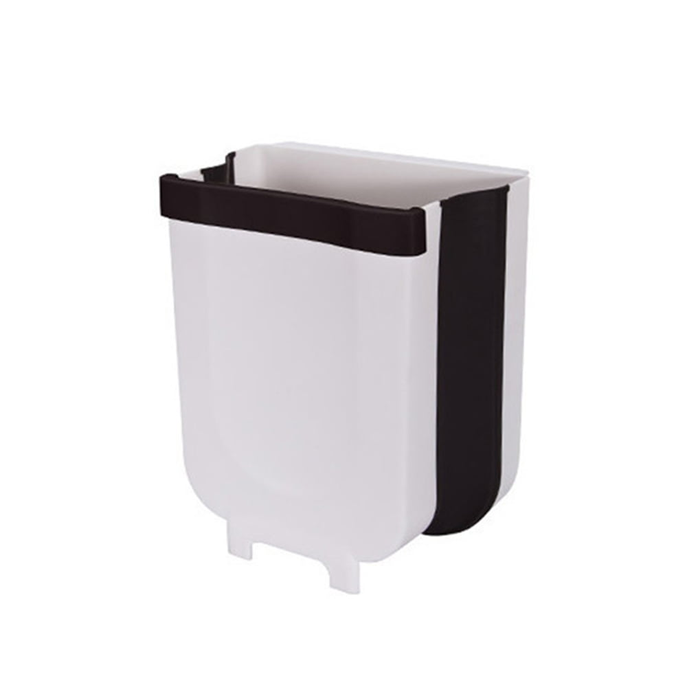 Portable Kitchen Trash Can Collapsible Mini Trash Bin Garbage Can For Over Kitchen Drawer Cabinet Car Bedroom Bathroom Walmart Canada