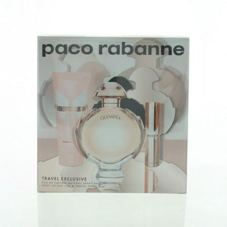 Olympea Women 3 Piece Gift Set   2 7 Oz Eau De Parfum Spray By Paco Rabanne