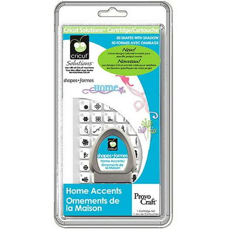 Celebrations Cricut Solution Cartridge Home Accents