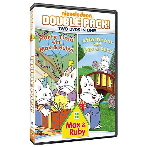 Max & Ruby Double Feature: Afternoons With Max & Ruby / Party Time With Max & Ruby (Full Frame)