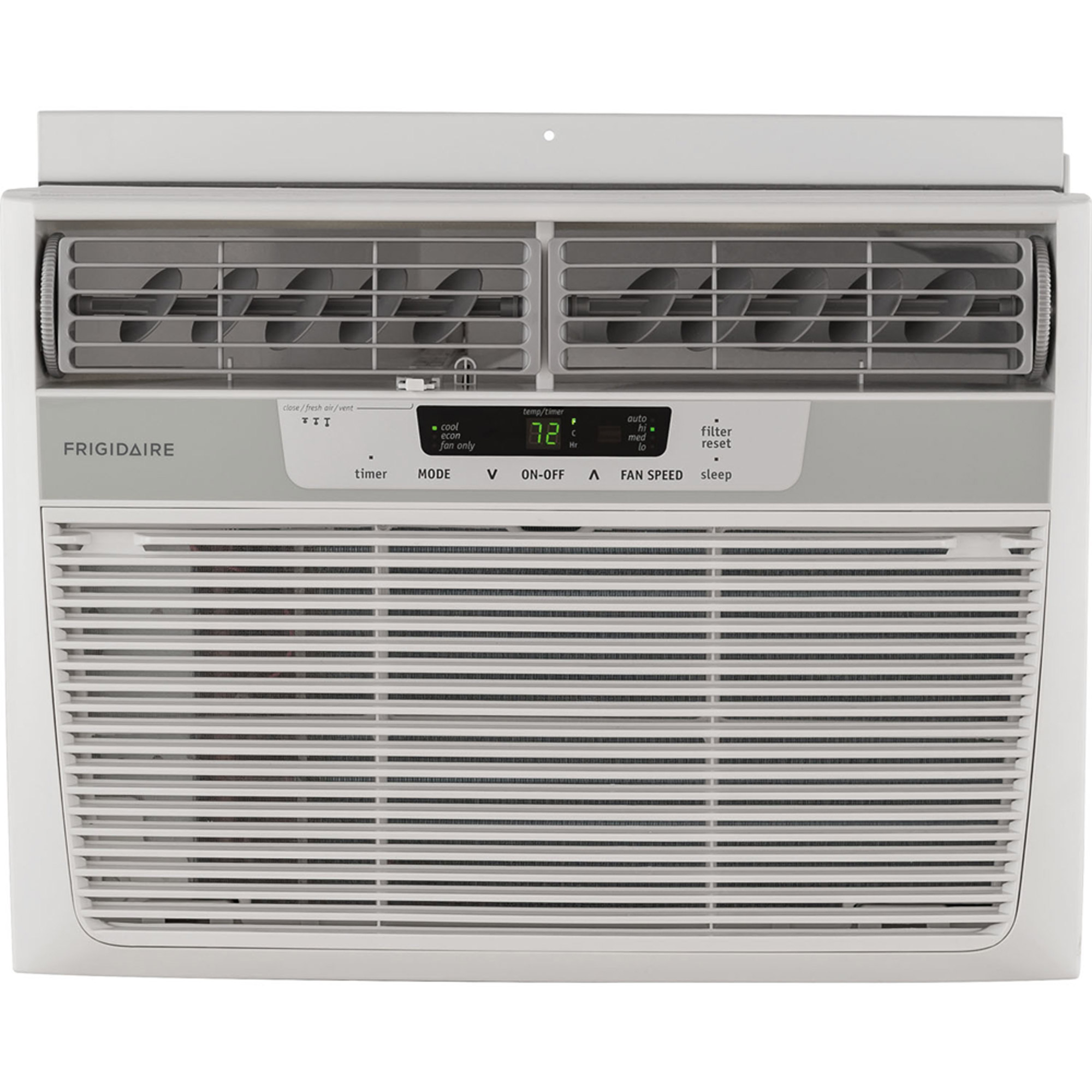 Frigidaire FFRA1222R1 12,000-BTU 115V Window Mounted Compact Air Conditioner with Remote Control