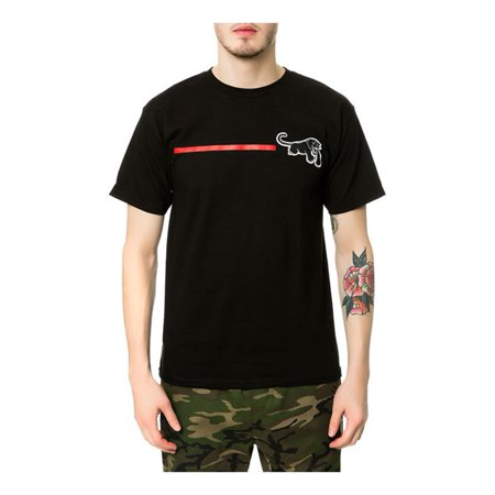 Black Scale Mens The Red Line Radical Graphic T-Shirt