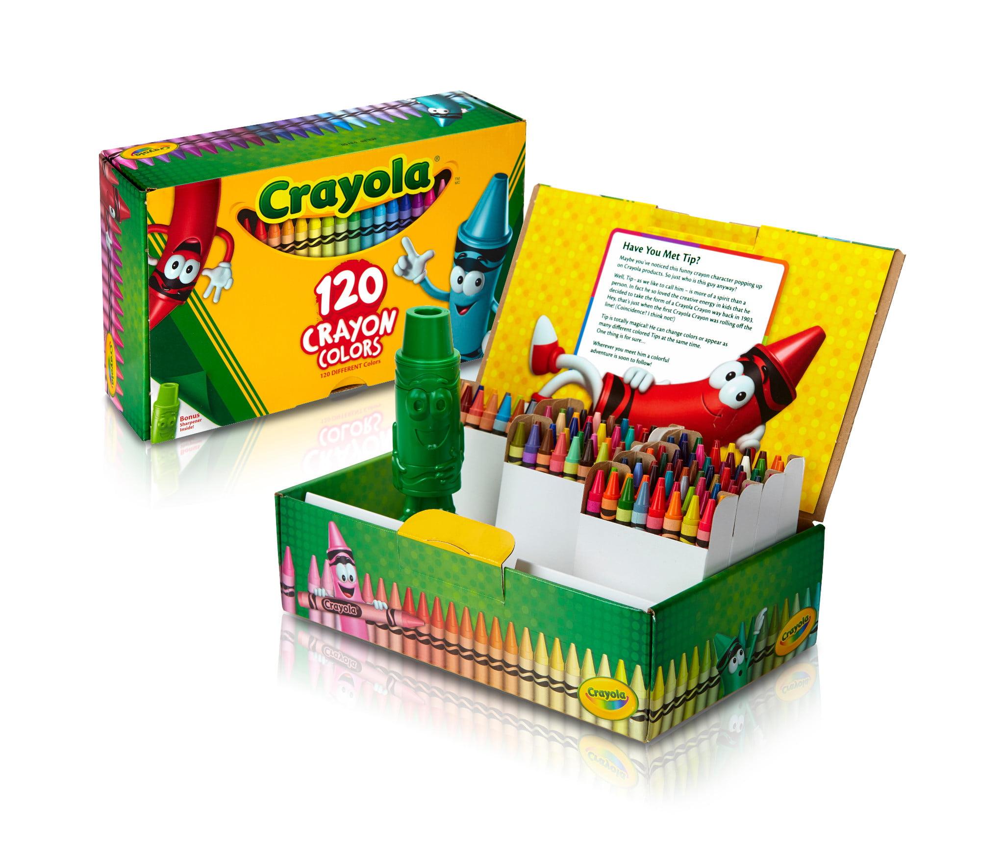 Crayola Giant Box Of Crayons Walmartcom
