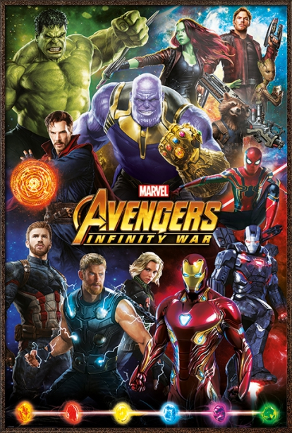 "Avengers Movie Marvel Poster /""24 x 36/"" Infinity War NEW"