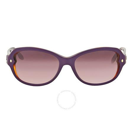 d6e25665aafa4 Dior - Dior Pondichery Violet Gradient Cat Eye Sunglasses DIORPONDICHERY2- XLV - Walmart.com