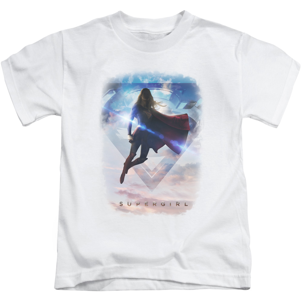 Supergirl Endless Sky Little Boys Shirt