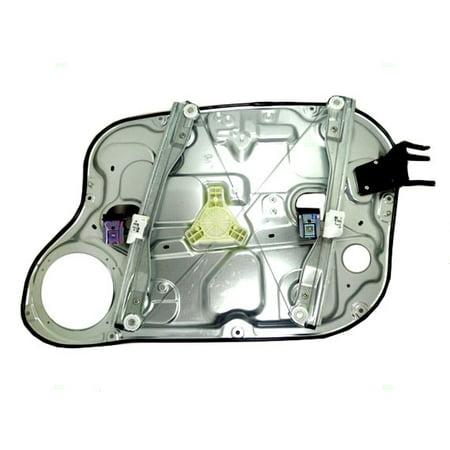 (BROCK Power Window Lift Regulator w/ Door Panel Driver Front Replacement for 07-09 Hyundai Elantra Sedan 82471-2H000)