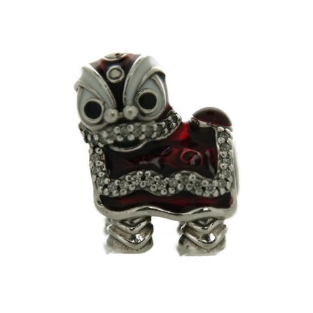 Authentic PANDORA Chinese Lion Dance Charm 792043CZ